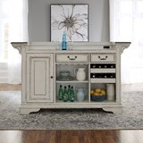 Treport Kitchen Island Marble by One Allium Way®