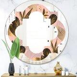 Silver Quatrefoil Mirror Wayfair Ca