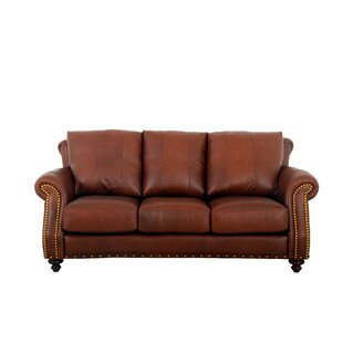 Randolph Leather Sofa by Westland and Birch
