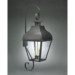 Stanfield 3-Light Outdoor Wall Lantern By Northeast Lantern Outdoor Lighting