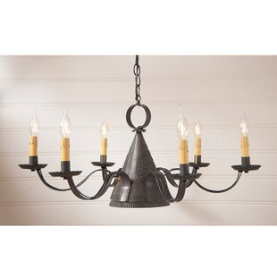 Gracie Oaks Venetian 6-Light Chandelier