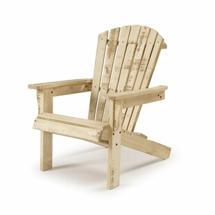 Charlize Reclaimed Solid Wood Adirondack Chair by Highland Dunes