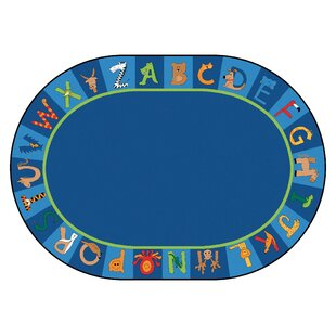 Price comparison Carpet Kits Printed A to Z Animal Cut Pile Area Rug By Carpets for Kids