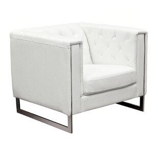Diamond Sofa Chelsea Leatherette Armchair