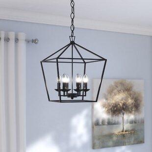 Matte black pendant light wayfair carmen 6 light foyer pendant mozeypictures Image collections