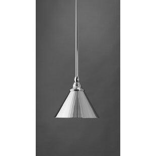 Gracie Oaks Du 1-Light Cone Pendant