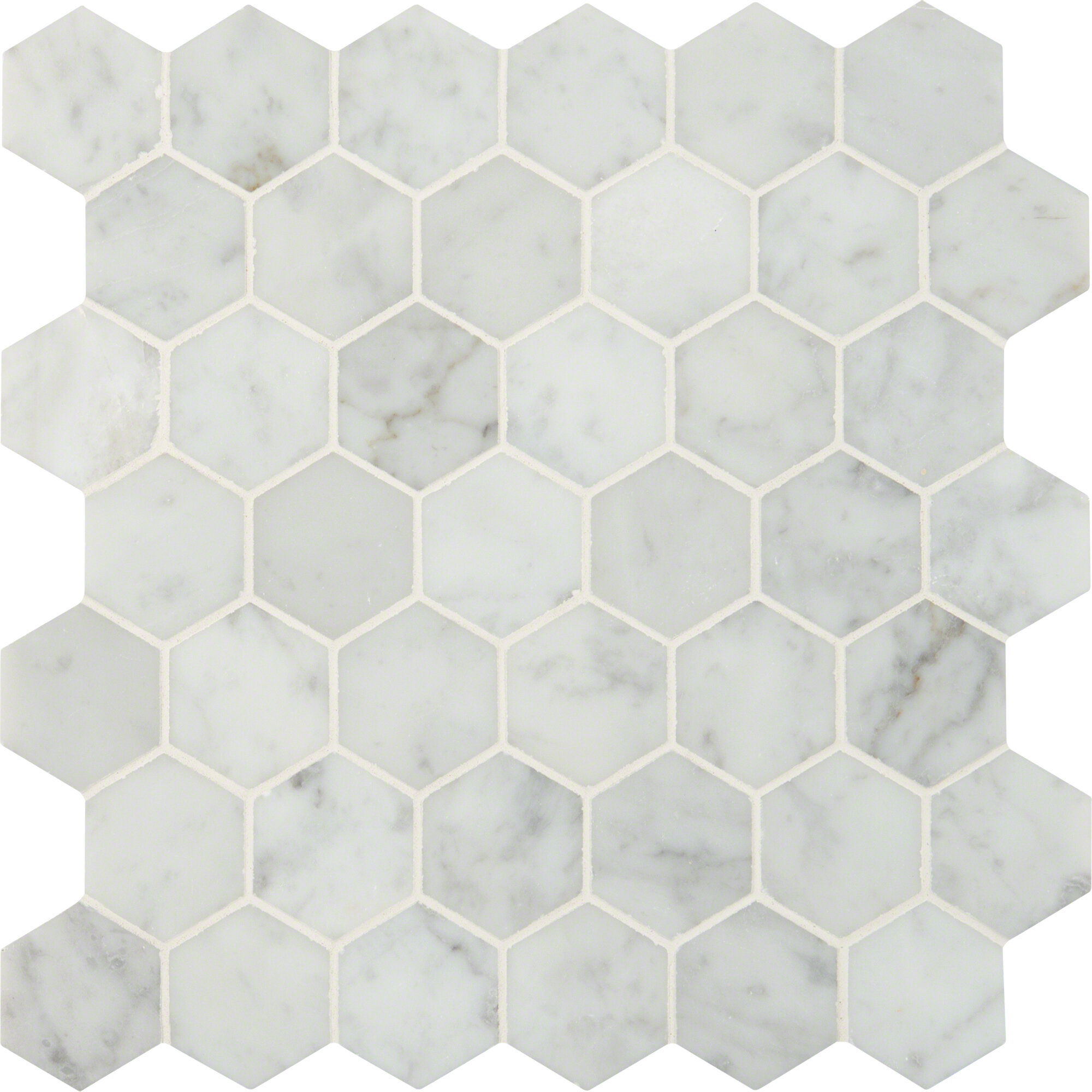 Msi Carrara Msi 2 X 2 Marble Mosaic Tile Reviews