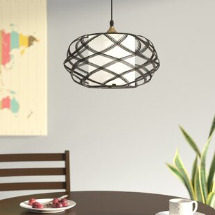 Clitherall 1-Light Pendant by Mercer41