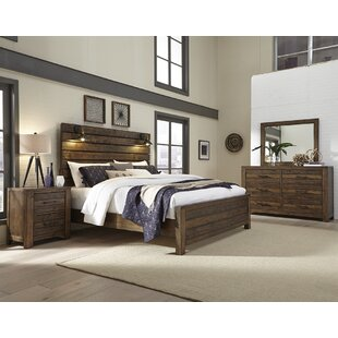 Emst Panel 4 Piece Bedroom Set