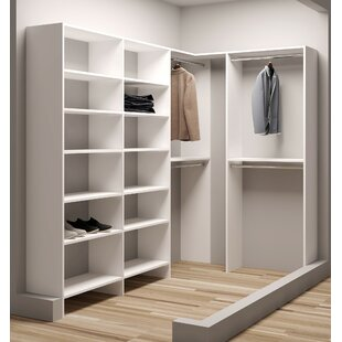 Demure Design 59.5W - 93W Closet System By TidySquares Inc.