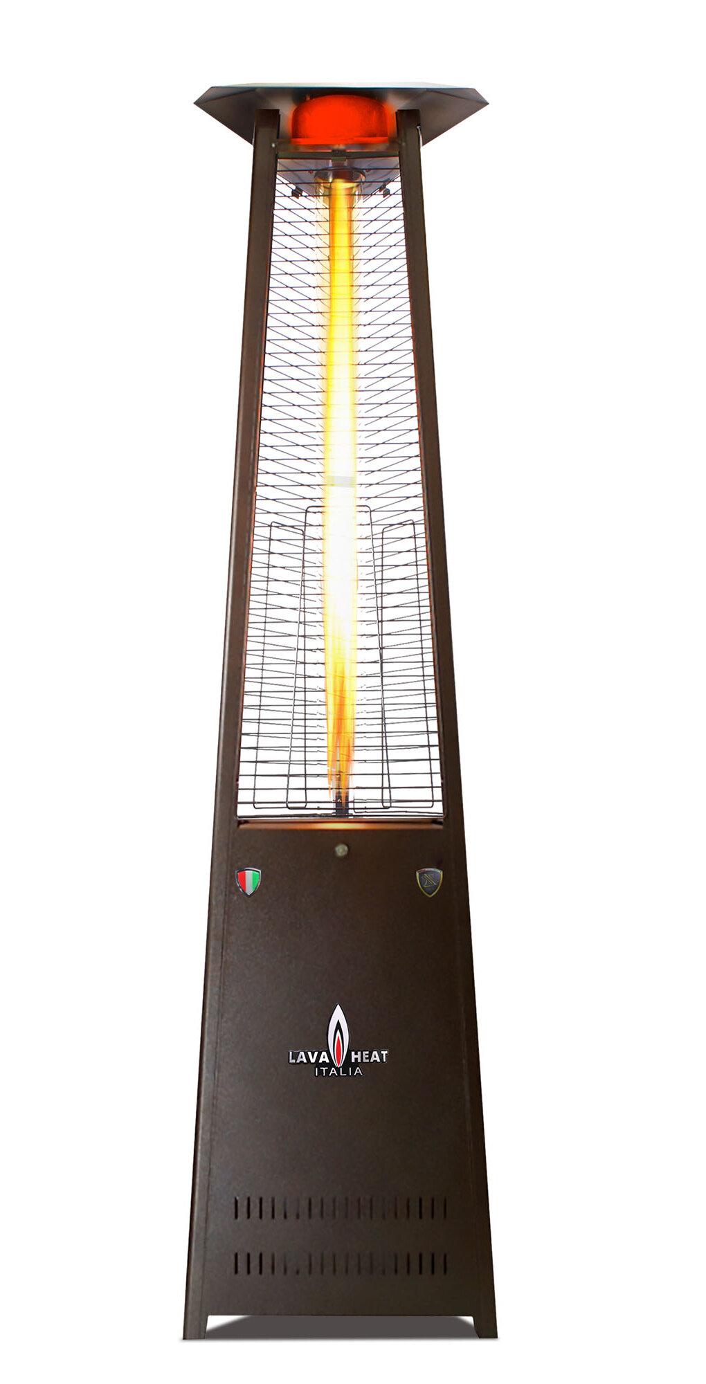 Lava Heat Lite A Line 56000 Btu Natural Gas Standing Patio