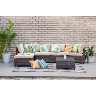 Grimes 6 Piece Sectional Set with Cushions