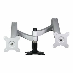 Washington Dual Tilt/Swivel/Articulating Arm Universal Desktop Mount for 12