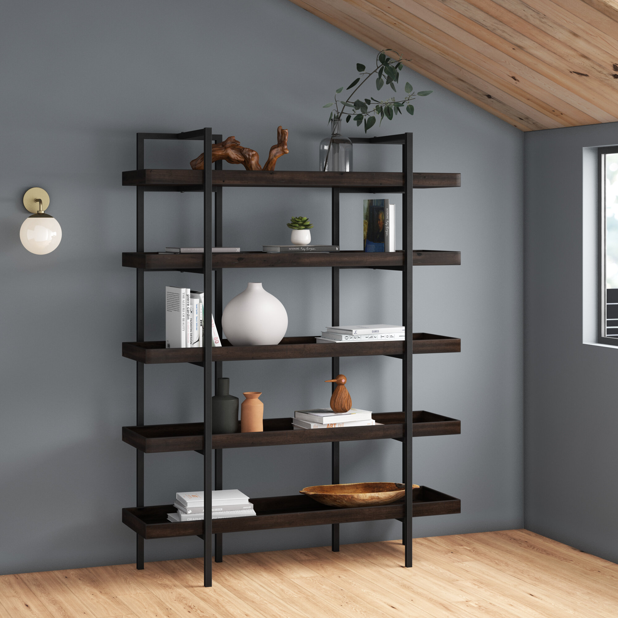 Jacey Etagere Bookcase Reviews Allmodern