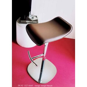 Lez Adjustable Height Swivel Bar Stool by..