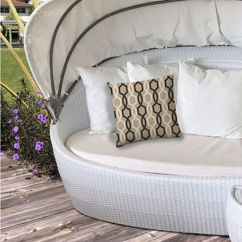 Mercer41 Deco Outdoor Square Pillow Cover Wayfair