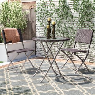 Carmelo 3 Piece Bistro Set by Winston Por..