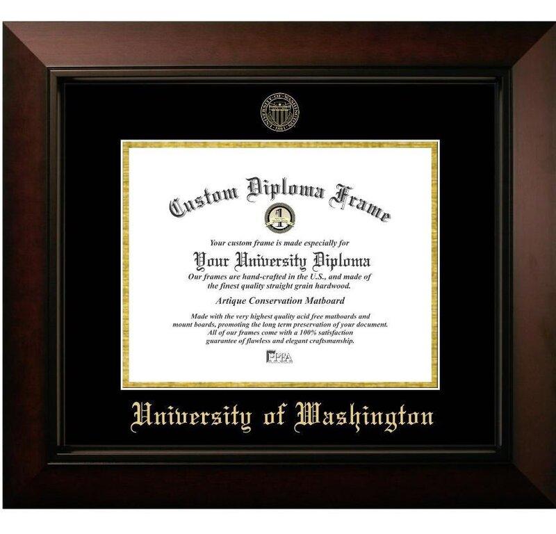 Diploma Frame Deals University of Washington Legacy Picture Frame ...