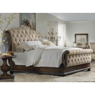 Hooker Furniture Taryn Upholstered Sleigh Bed