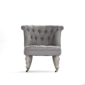 Amelie Slipper Chair by Zentique Inc.