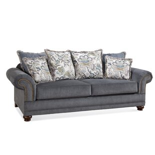 Serta Upholstery Sofa With Pillows by Darby Home Co