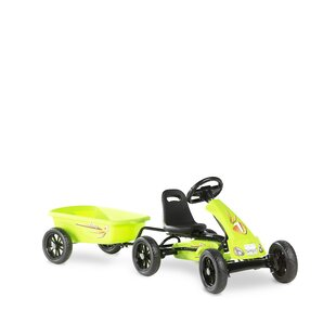 Foxy Go Kart With Trailer By Exit Toys