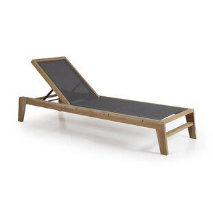 Adjustable Mendelson Garden Lounger Image