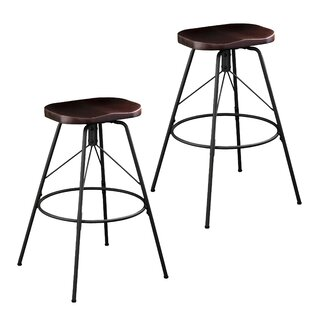 Parrish 30 Swivel Bar Stool (Set of 2) Williston Forge