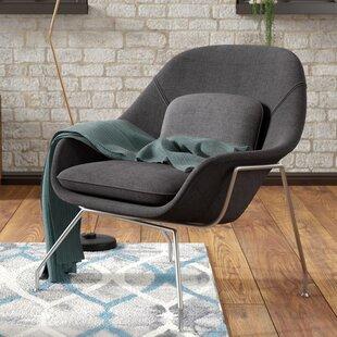 Alan  Lounge Chair By Wade Logan