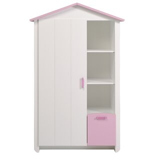Kaleb 1 Door Armoire by Zoomie Kids