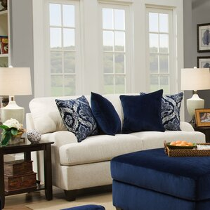Simmons Upholstery Hattiesburg Stone Loveseat by Three Posts