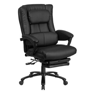 Red Barrel Studio Stevie Executive Reclining Swivel High-Back Leather Desk Chair