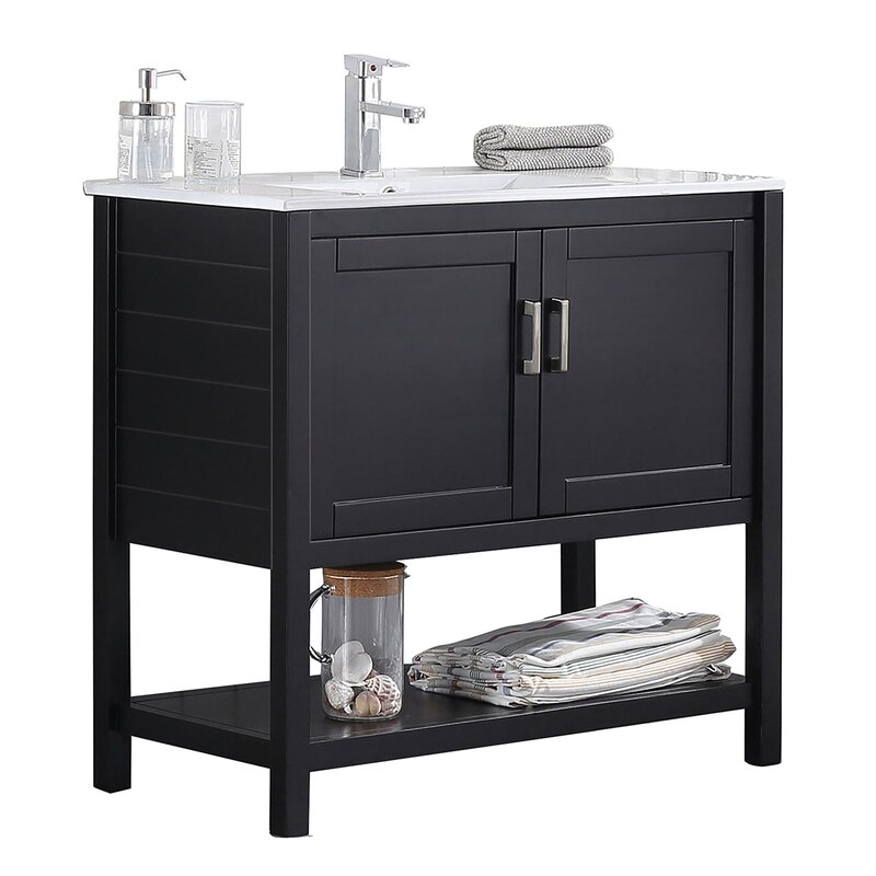 "Blossom 36"" Single Bathroom Vanity Base Only | Wayfair"
