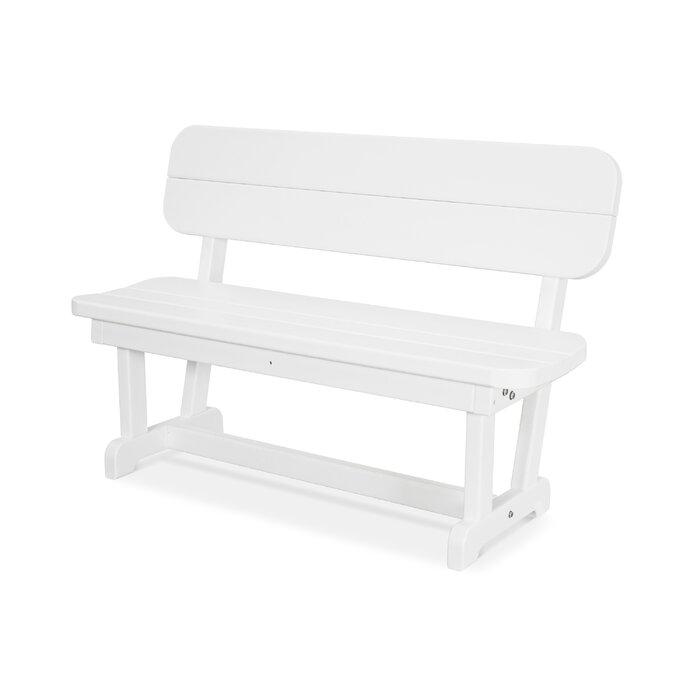 Excellent Park Plastic Convertible Bench Frankydiablos Diy Chair Ideas Frankydiabloscom
