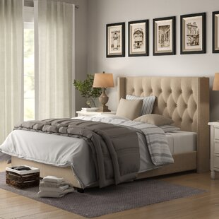 Rumford Upholstered Panel Bed by Birch Lane™ Heritage