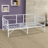 Zella Easy Set Up Metal Twin Daybed by Zipcode Design™