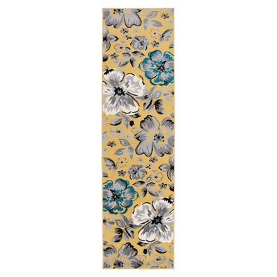 Runner Yellow Amp Gold Area Rugs You Ll Love In 2020 Wayfair