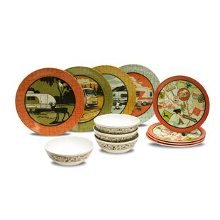 Cranmore 12 Piece Dinnerware Sets, Service for 4