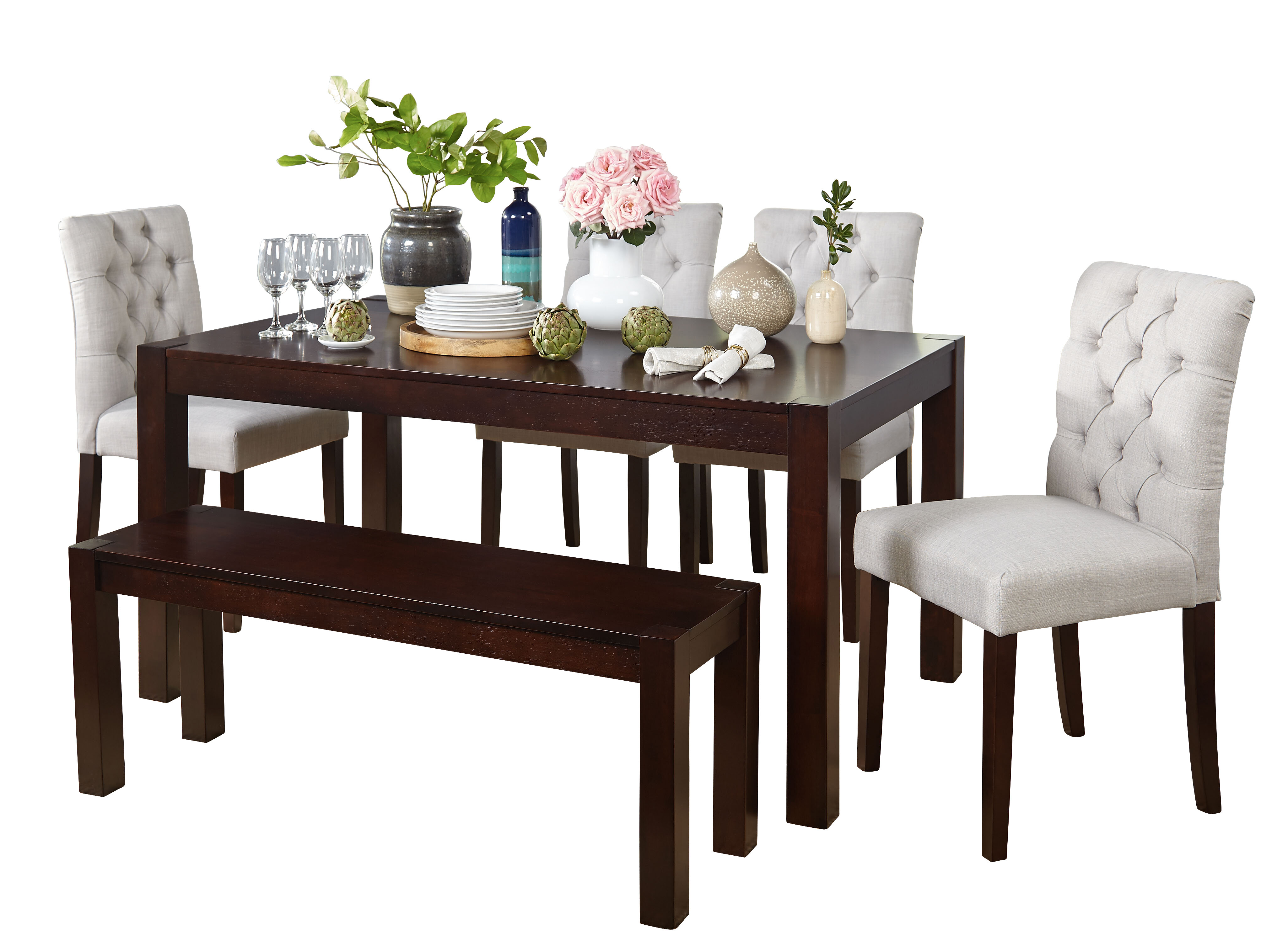 Darby Home Co Gardners 6 Piece Dining Set Reviews Wayfair