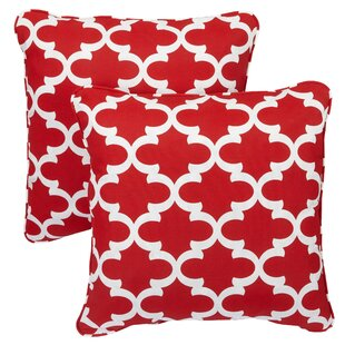 Novello Indoor/Outdoor Throw Pillow (Set of 2)