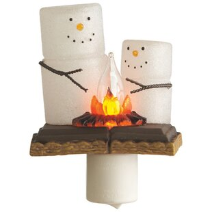 CBK S'more Snowmen Night Light