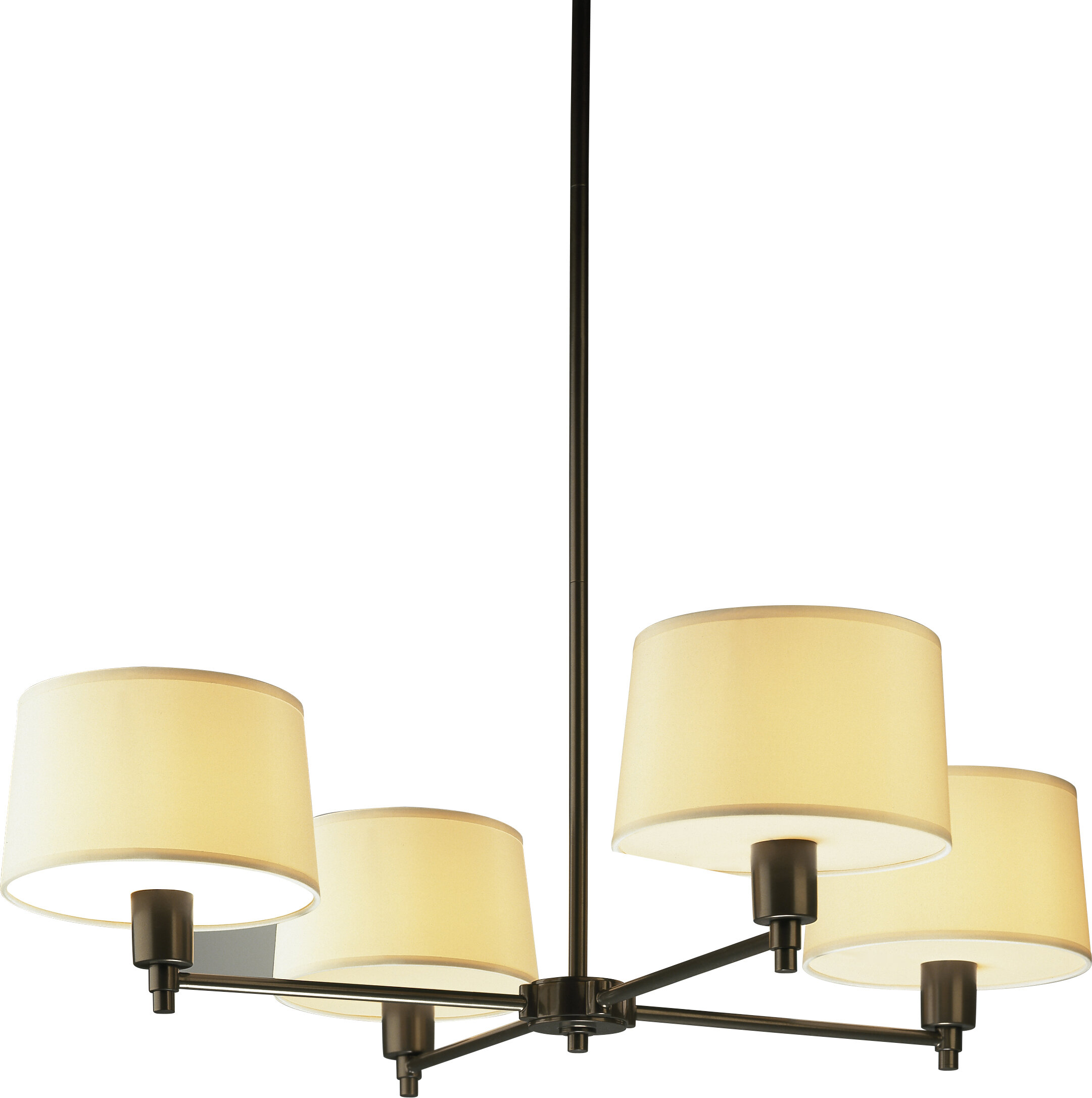 Robert Abbey Real Simple 4 Light Shaded Classic Traditional Chandelier Wayfair