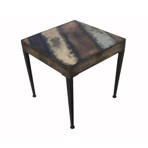 Michiko End Table by 17 Stories