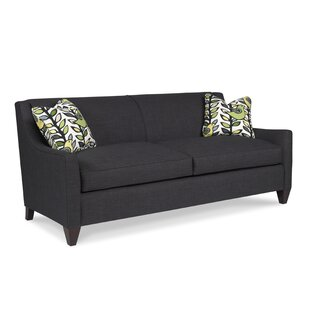 Classic Comfort Tapered Arm Two Seat Sofa