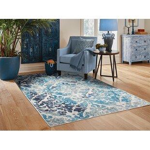 Bettine Blue Indoor/Outdoor Area Rug