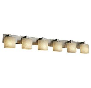 Inexpensive Jacinto Modular 6 Light Bath Vanity Light By Brayden Studio