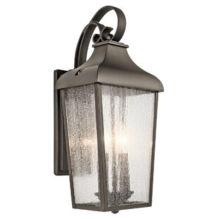 Outdoor Sconce Lights Outdoor wall lighting barn lights youll love wayfair harpole 2 light outdoor wall lantern workwithnaturefo