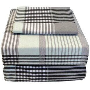 100% Cotton Flannel Twin XL Sheet Set