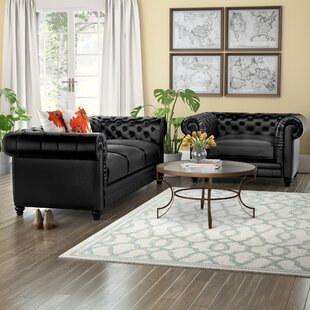 Italian Leather Living Room | Wayfair