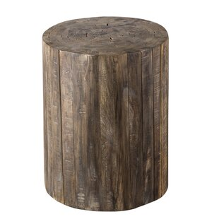 Union Rustic Bostrom Stick End Table